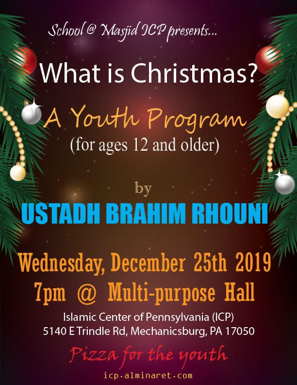 2020 Open On Christmas 17050 ICP   Lecture on 'What is Christmas'   A Youth Program @ ICP (12